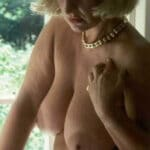 Marlène, vieille blondasse aux loches énormes