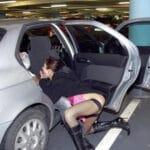 Prostituée bulgare de 43 ans suce dans un parking