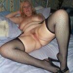 Valériane, rombière blonde de Dijon en manque de sexe