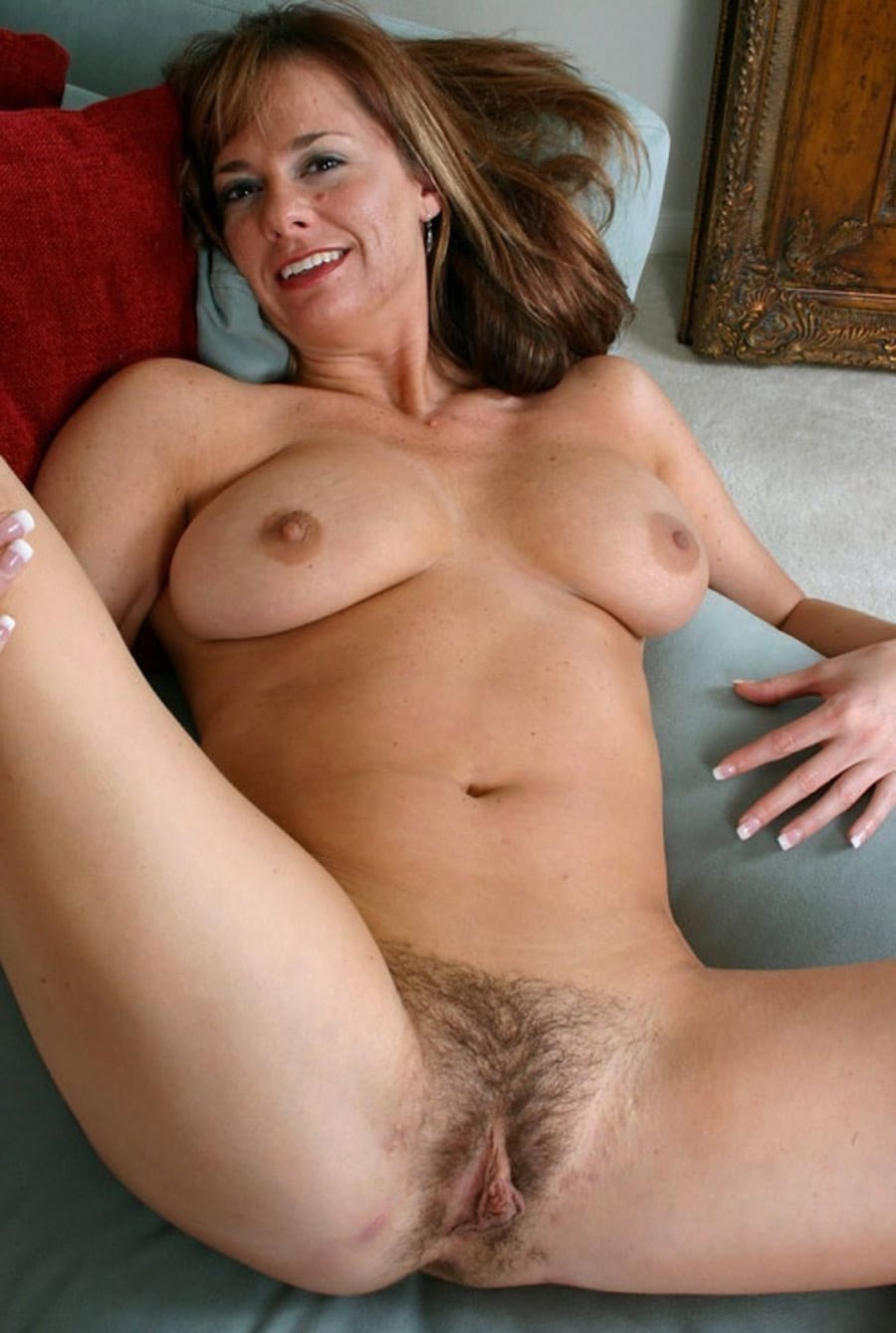Hairy mature beauty