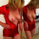 Fabienne, femme au foyer blonde très coquine