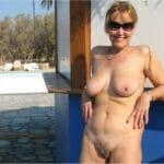 Suzie, daronne cougar dans un club nudiste et libertin