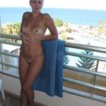 Sabine, blonde mure divinement bonne toute nue