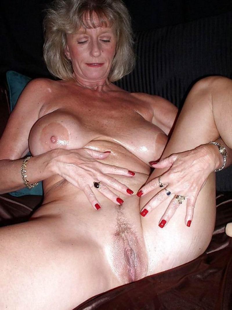 Sexy Alte Frau