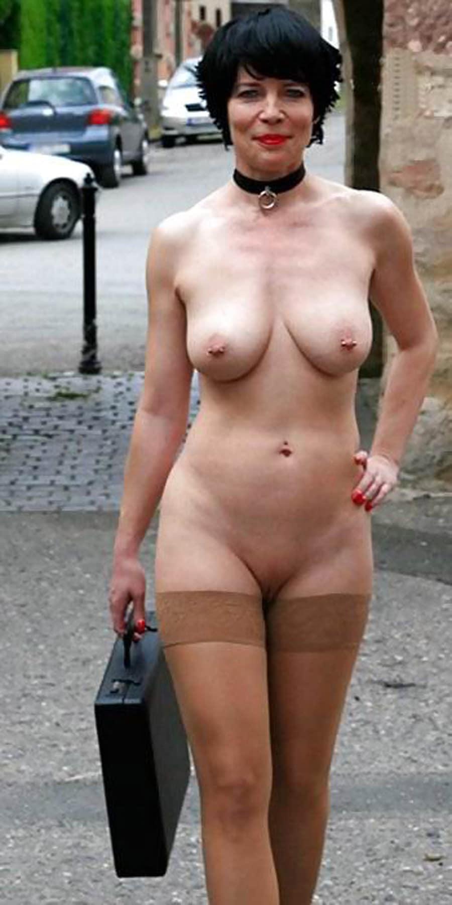 salope nue photo exhibitionniste femme