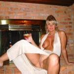 Anne-Sophie, blonde mature super chaude